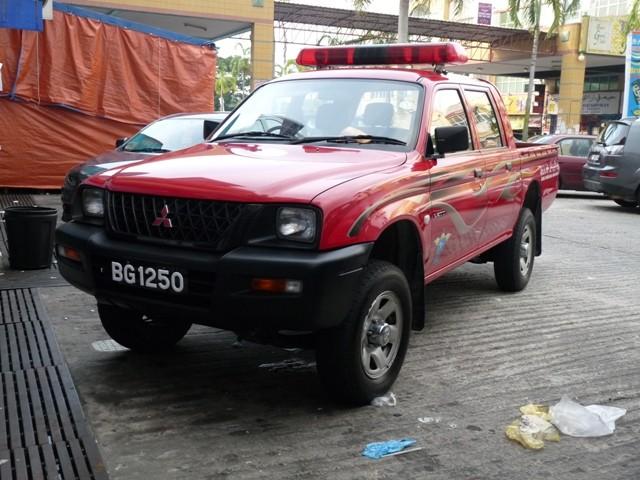 Brunei DCA FD Mitsubishi L200