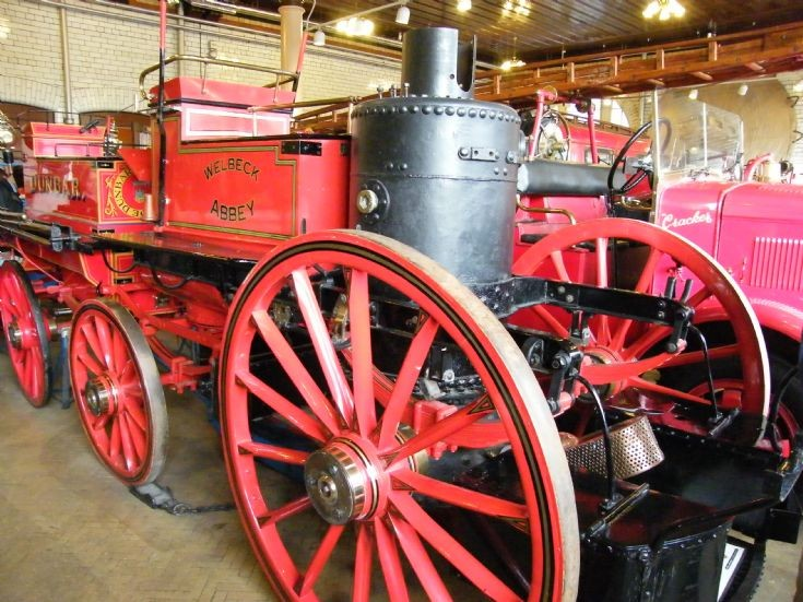 Shand Mason Steam Fire Engine