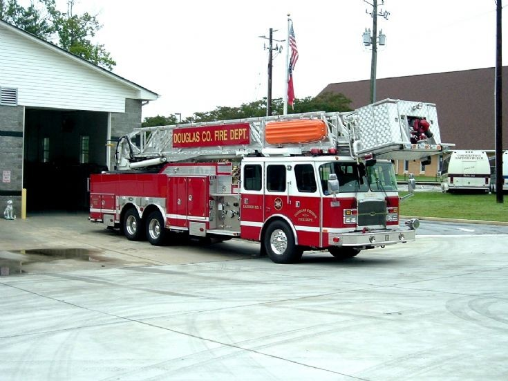 Douglas County Fire Department (Georgia) Ladder