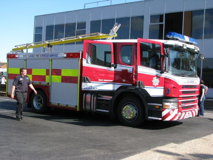 West Sussex Scania at East Grinstead