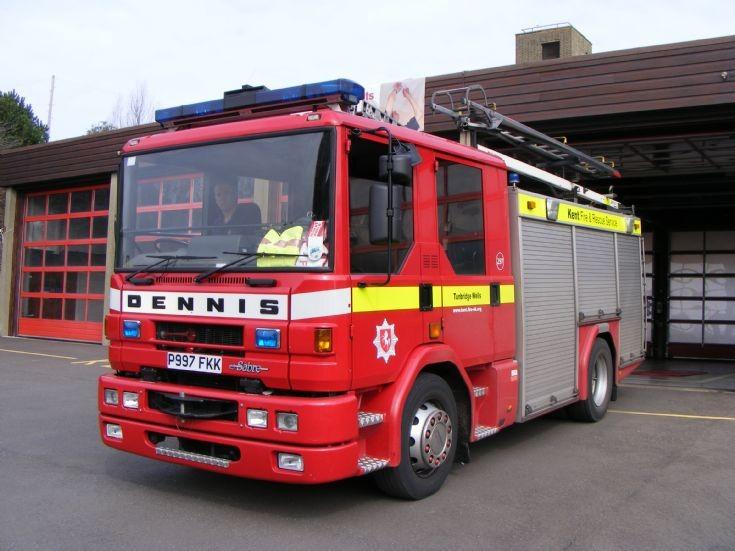 Kent Fire Rescue Service  Dennis Sabre