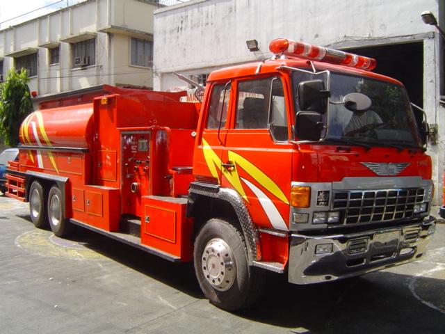 Hino EK100 Custom Made Fire Tanker (Philippines)