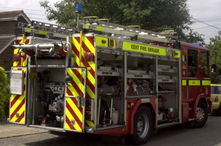 Kent Fire Brigade - Strood - Dennis Sabre PRL