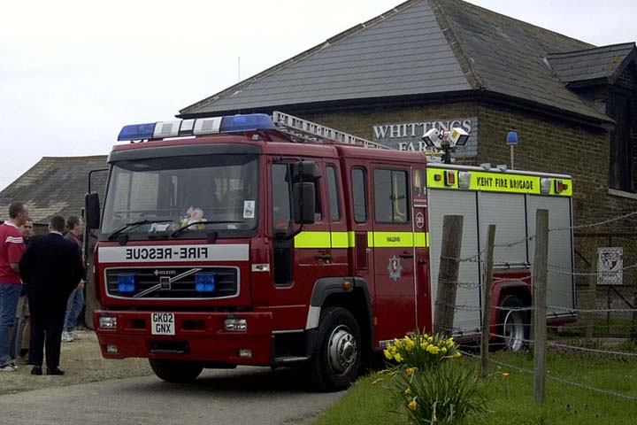 Kent Fire and Rescue Service Volvo Pump