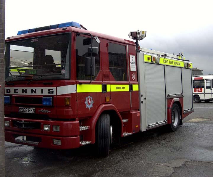 Kent Fire and Rescue Service Dennis Sabre Pump