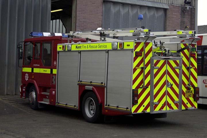 Kent Fire and Rescue Service Dennis Sabre XL PRL