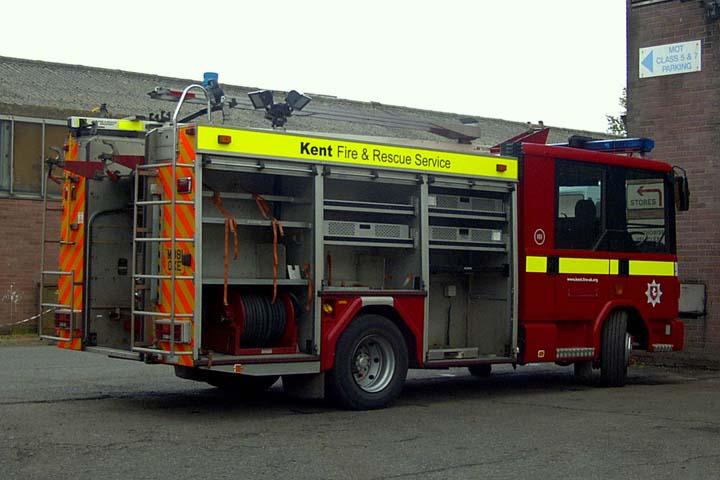 Kent Fire and Rescue Service Reserve Dennis Rapier