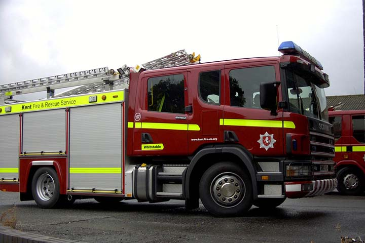 Kent Fire and Rescue Service Scania PRL