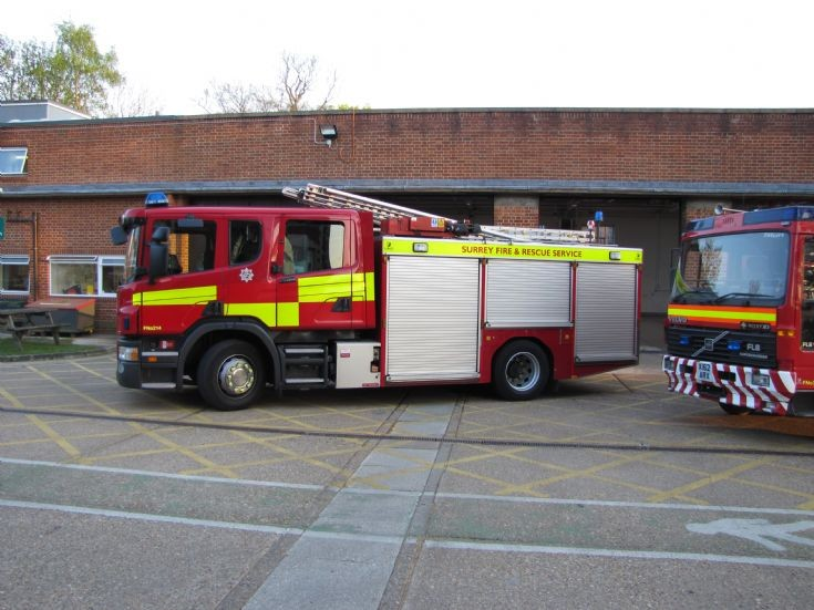 Surrey Fire and Rescue Service First Away