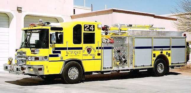 Clark County Fire Dept - Engine 24 - Nevada