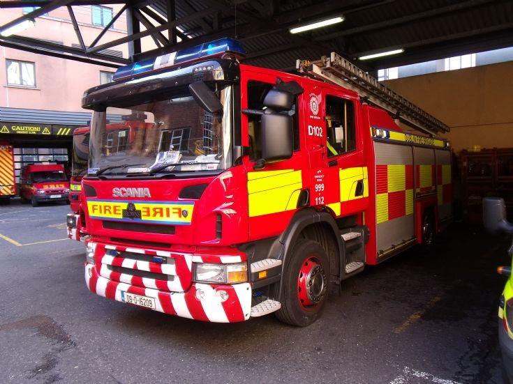 Scania Rescue Pump Dublin Fire brigade