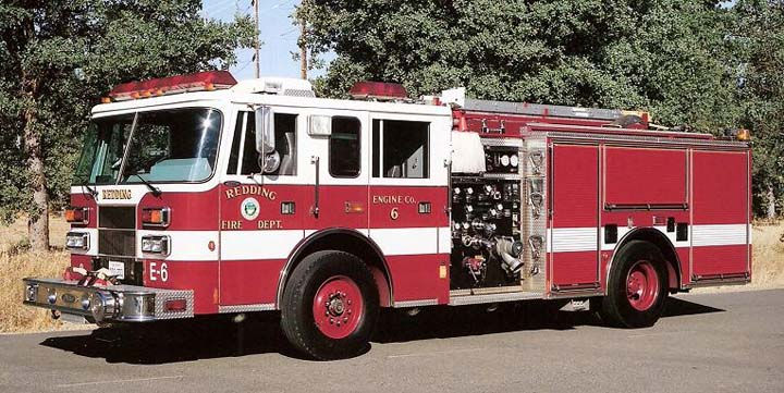 Redding Fire Dept, CA - Engine 6