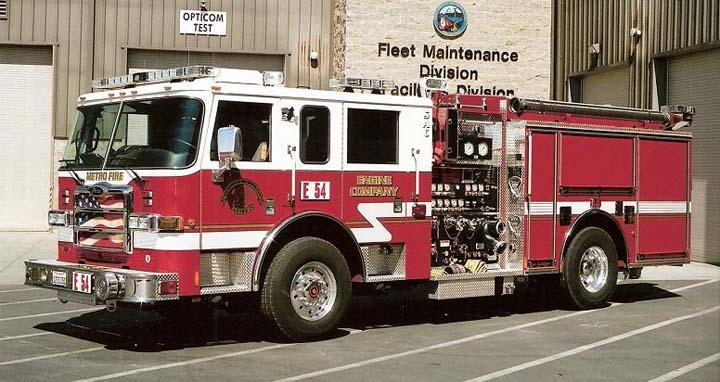 Sacramento Metro Fire District - Pierce Engine