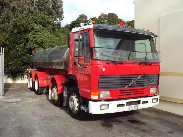 volvo fl10 rural fire tanker Kaikoura New Zealand