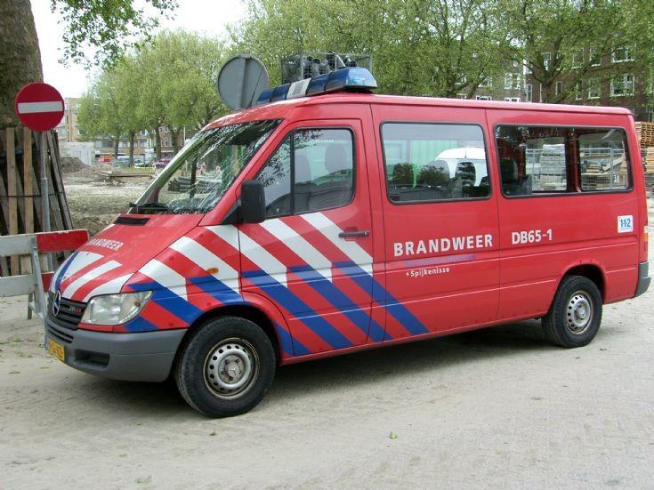 DB65-1 Brandweer Spijkenisse