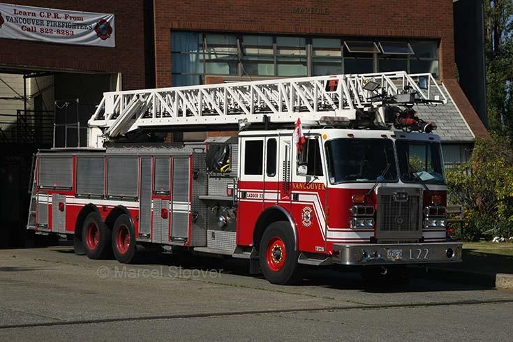 Ladder 22 Simon Duplex Anderson LTI Vancouver