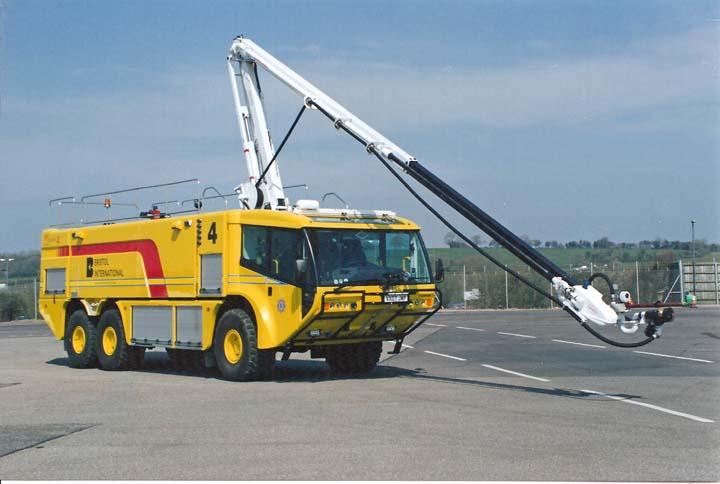 Bristol International Airport Crashtender