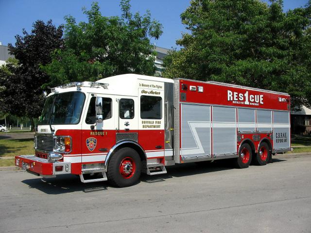Buffalo NY  Fire Department Rescue-1