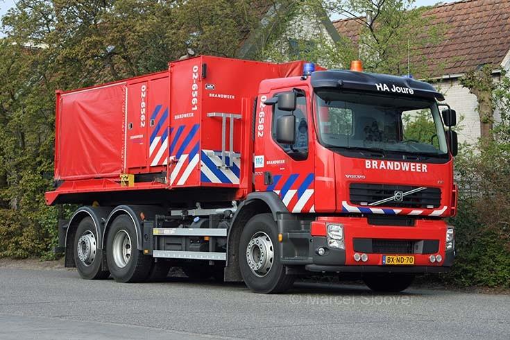 Regional fire brigade Friesland Volvo