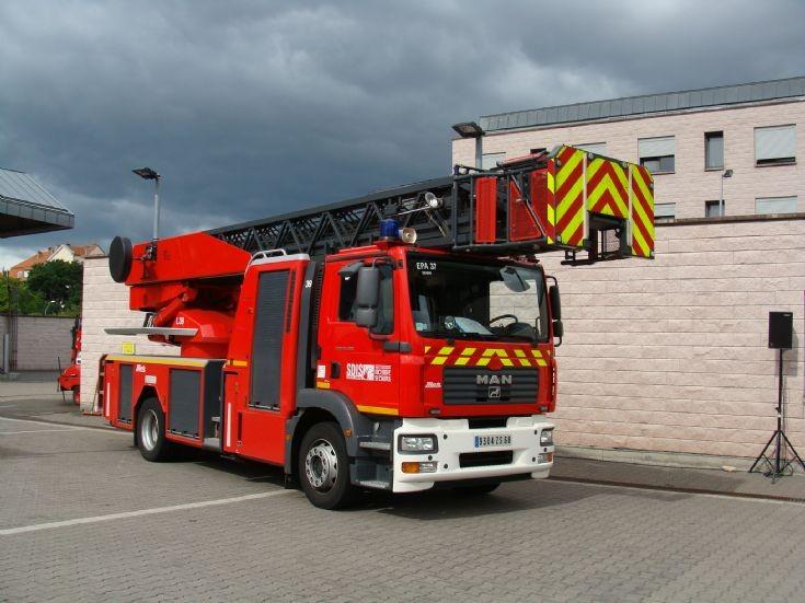 Photo of Colmar Fire station France MAN Metz