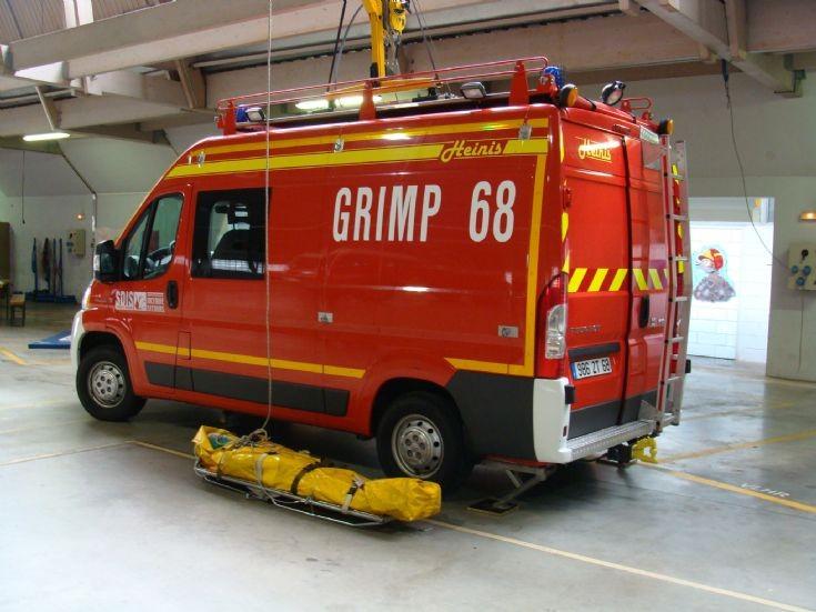 Peugeot Rescue Colmar France GRIMP 68