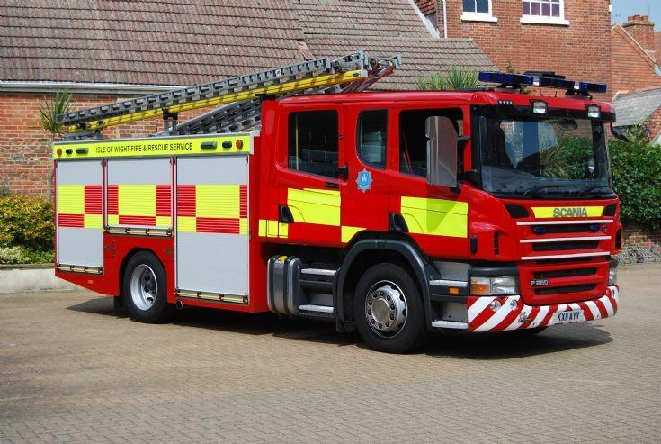 Isle of Wight Fire & Rescue Scania P280