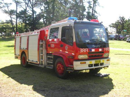 Isuzu type 2 pumper