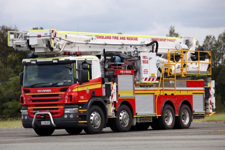Scania P400 Bronto F44RLX Queensland