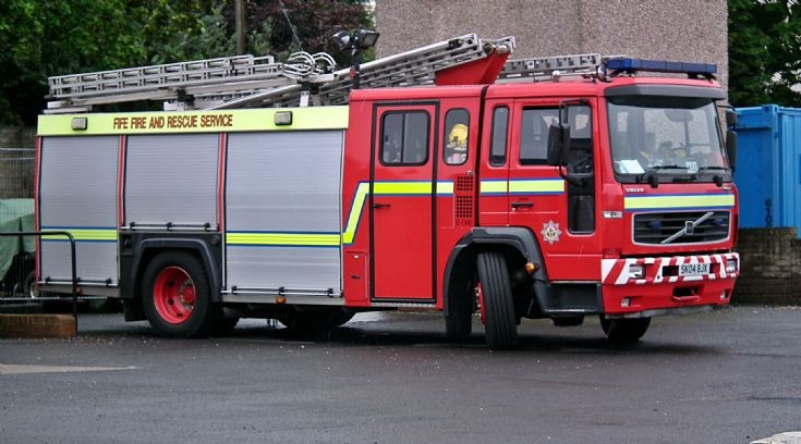 Volvo at Anstruther Fife Fire Rescue