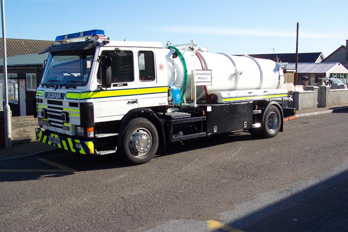 480 Grampian Fire Service Water carrier