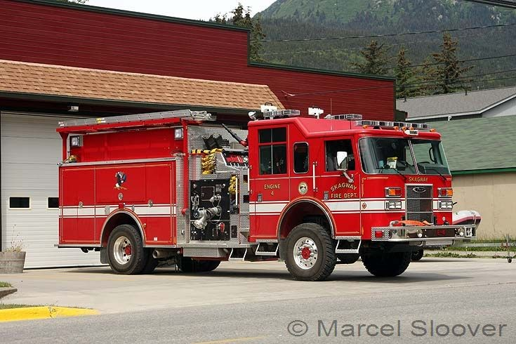 Engine 4 Pierce Skagway Fire dept