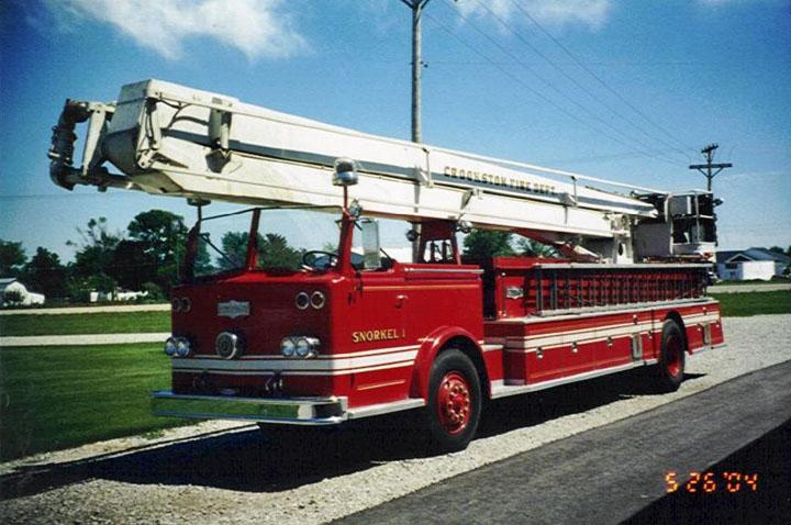 Seagrave K Snorkel 1 Crookston Fire Department