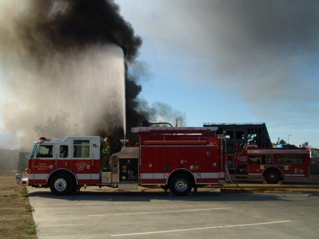 Eaton Pierce Engine at Greeley, CO Mutual Aid Call