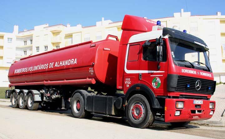 Watertanker Bombeiros de Alhandra  Portugal