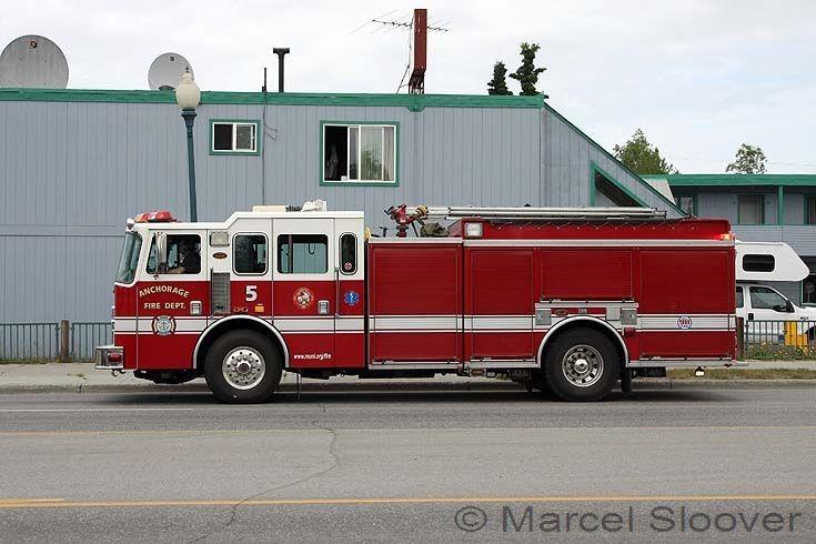 Anchorage Fire dept KME engine 5