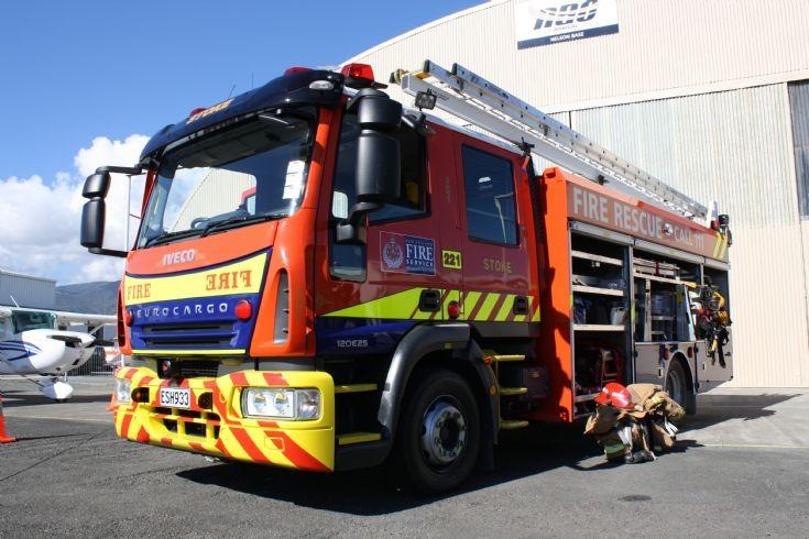 New Zealand Iveco ESH933 Stoke Fire brigade