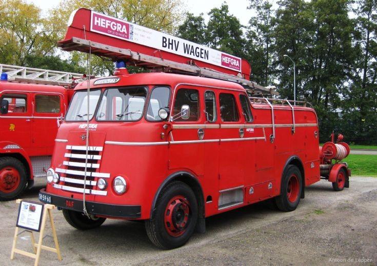 1957 DAF Truck, SB-59-60.