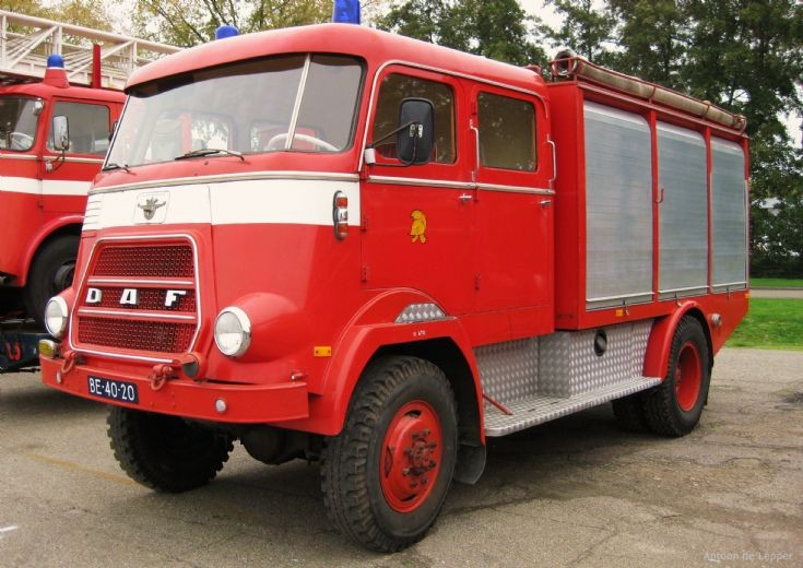 1969 DAF, ex. Dutch army, BE-40-20.