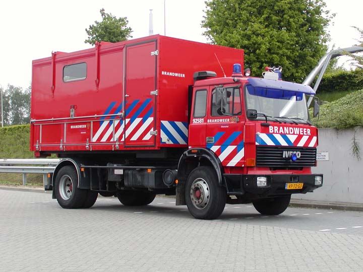 Chemelot Park Protection Iveco Prime mover