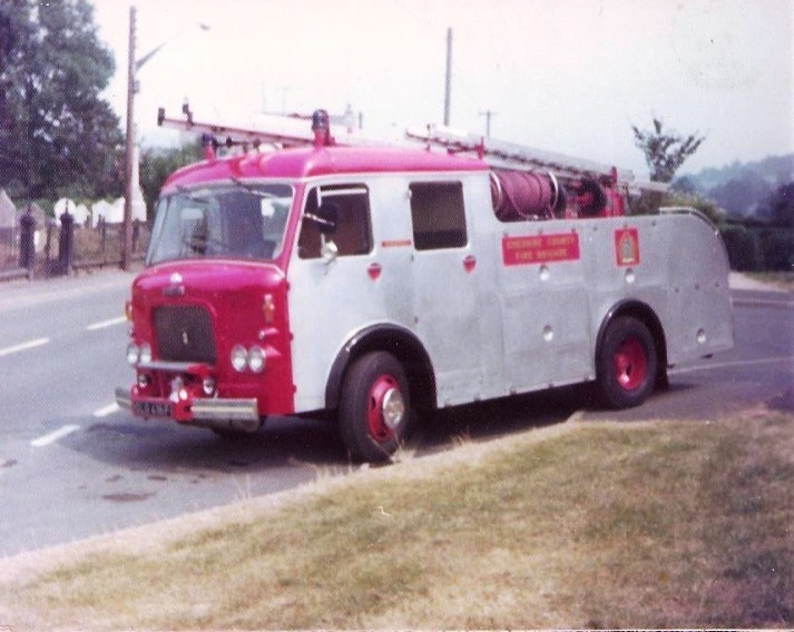 Dennis F36 Cheshire WrT DLG416F