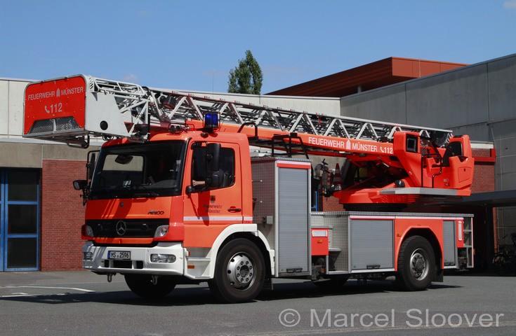 Mercedes Atego Magirus Ladder Munster
