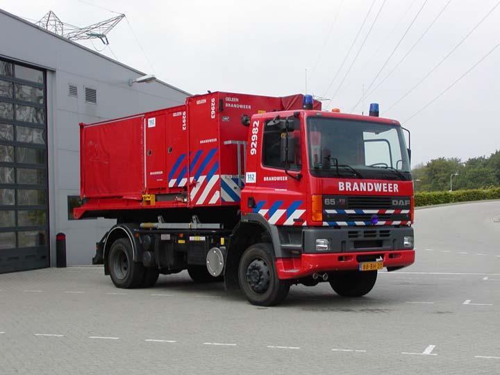 Regionale Brandweer Zuid-Limburg DAF Prime mover