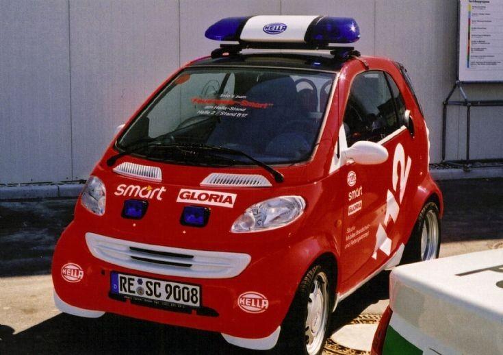 HELLA SMART car