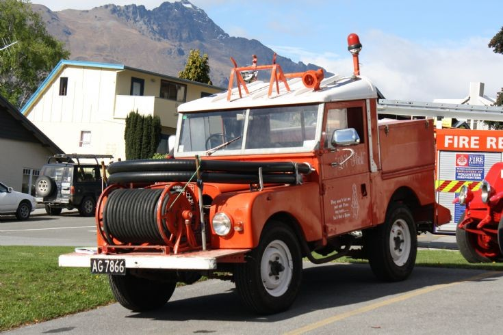 New Zealand Land Rover