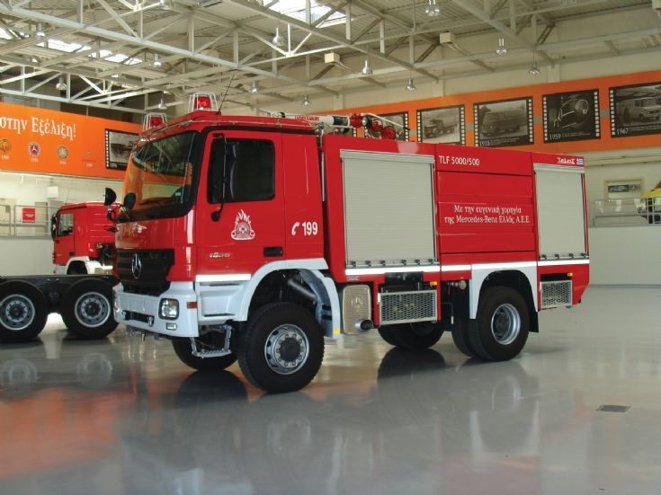 MB Actros Fire Tender