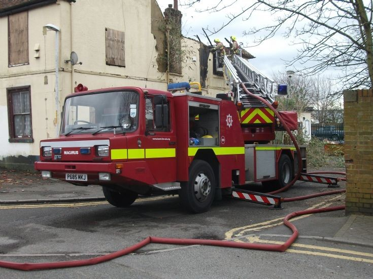 Ashford Iveco TL in Action