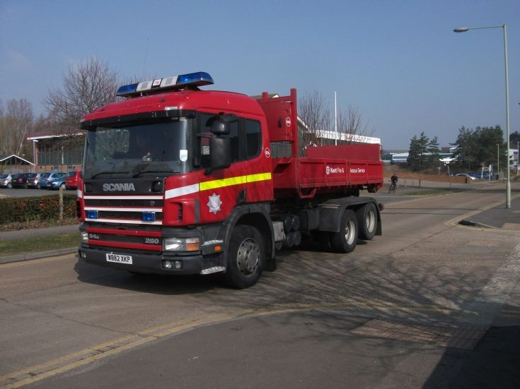 KF&RS Scania Prime mover