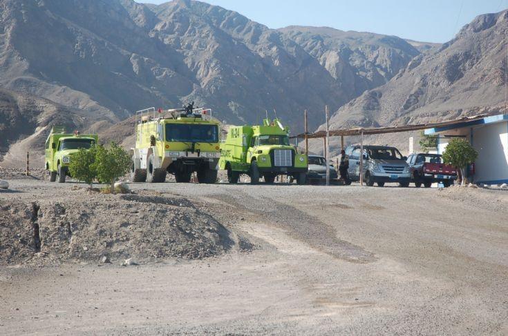 E-One crash tender Nazca Airport Peru