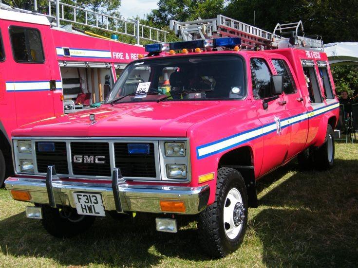 GMC Odiham Fire Show 2015 Hampshire