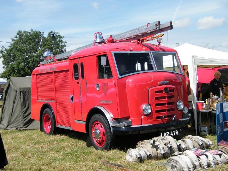 Odiham Fire Show 2015 Hampshire